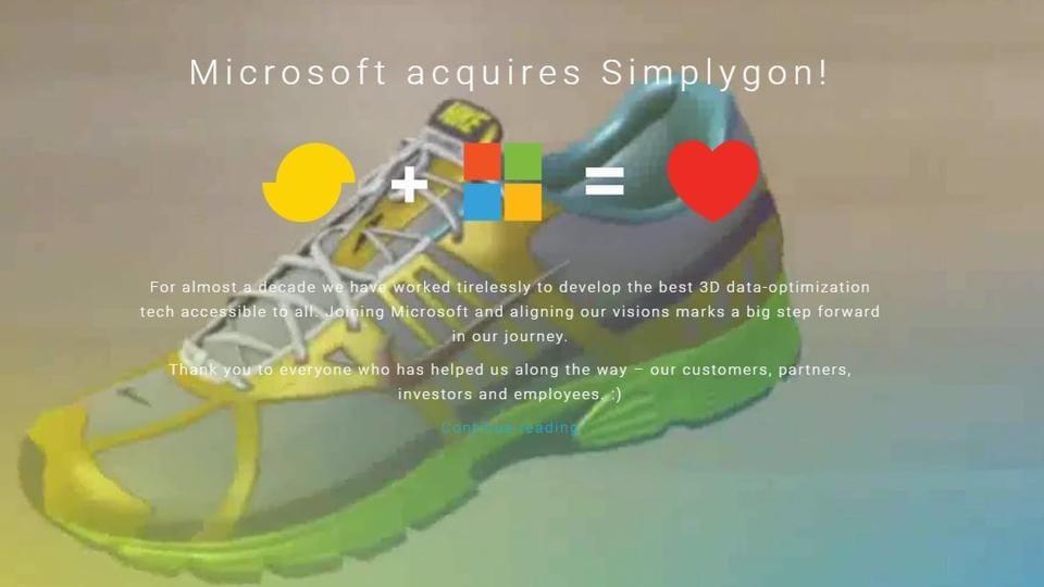 Microsoft,Simplygon,Donya Labs