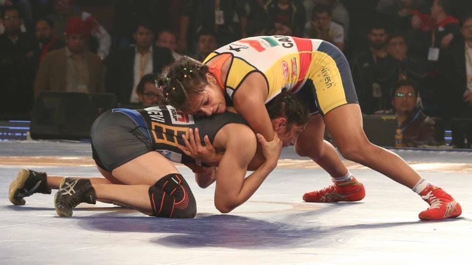 Punjab Royals beat defending champions Mumbai Maharathi 5-4 in the second semi-final  on Wednesday to set a date with Haryana Hammers in the summit clash of the Pro Wrestling League.
