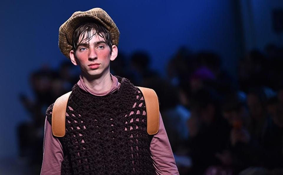 Going by the major highlights of the Milan Men's Fashion Week, men sporting just a hint of blush on their cheeks may very well become the next big thing.