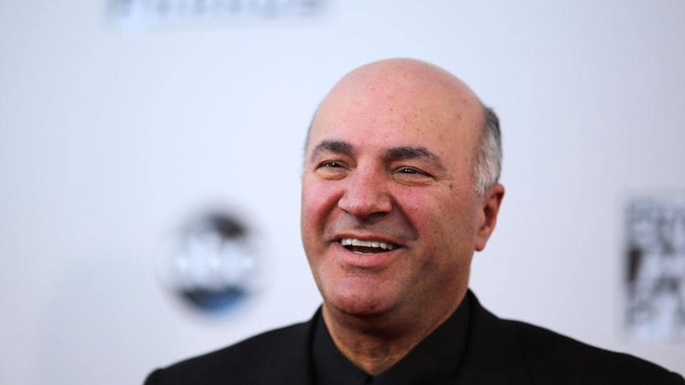 Kevin O'Leary at the 2015 American Music Awards in Los Angeles, California on November 22, 2015.