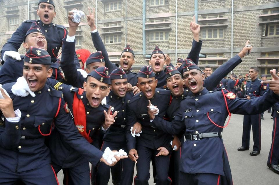 Candidates clearing NDA 1 have qualified for interview by the Services Selection Board of the Ministry of Defence for admission to the Army, Navy and Air Force Wings of the NDA  for the 139th Course and for the 101st Indian Naval Academy Course (INAC) starting from January 2