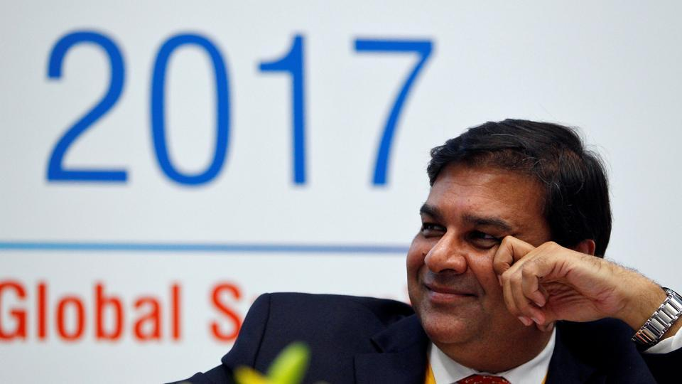 A file photo Reserve Bank of India (RBI) governor Urjit Patel.