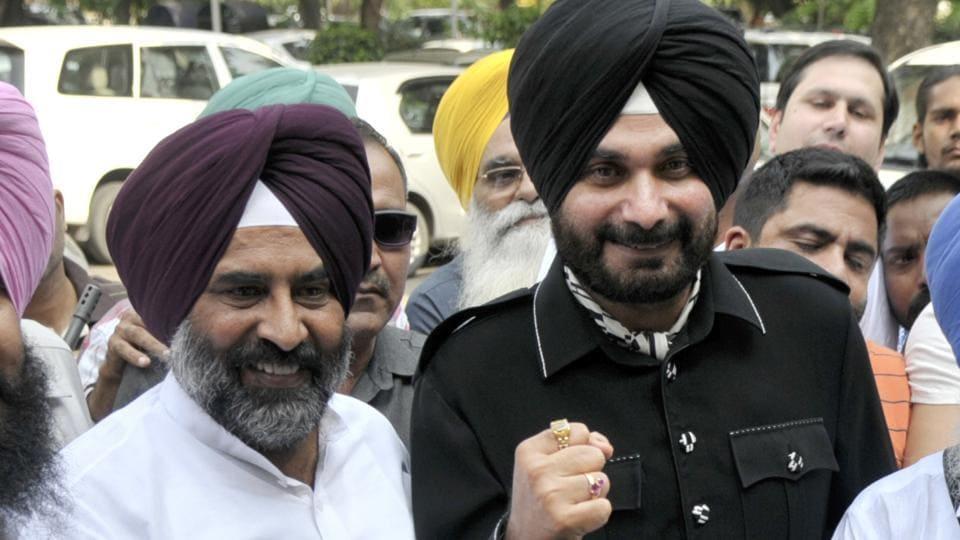 Punjab assembly elections 2017,Navjot Sidhu,Pargat Singh