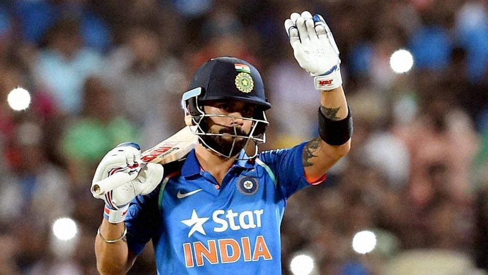 Virat Kohli scored a record 15th successful hundred in a chase during India's three-wicket win against England in the first ODI in Pune on Sunday. The third India vs England ODI will be played in Cuttack on Thursday.