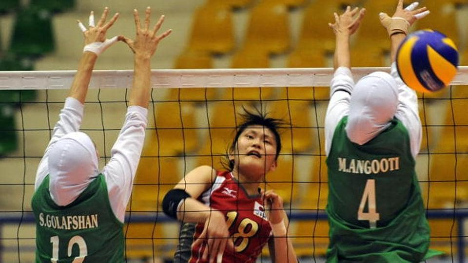 The Iranian duo of Maedeh Borhani and Zeinab Giveh created history as they became the first two women volleyball players from their country to compete outside the Islamic Republic after they joined Bulgarian club Shumen.