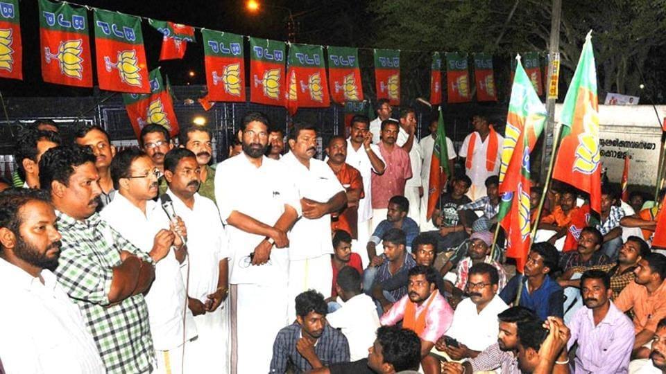 Kerala BJP,Kannan,CPI(M)