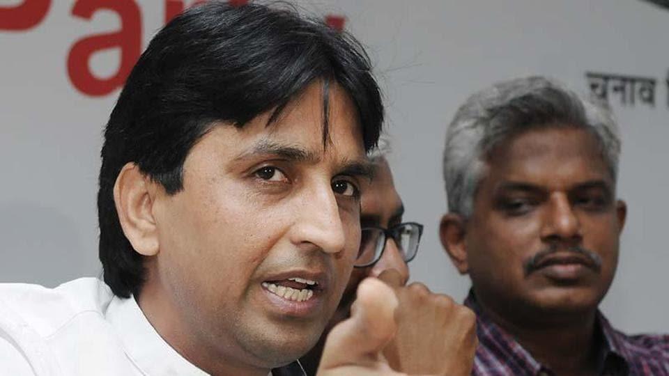 AAP,BJP,Kumar Vishwas
