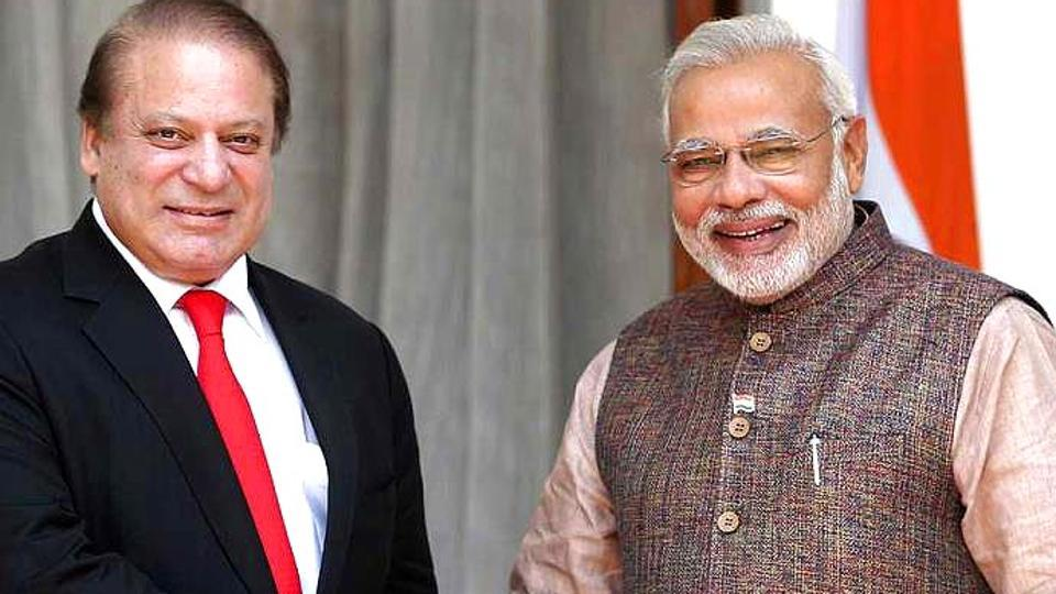 File photo of Pakistan PMNawaz Sharif and Indian Premier Narendra Modi.
