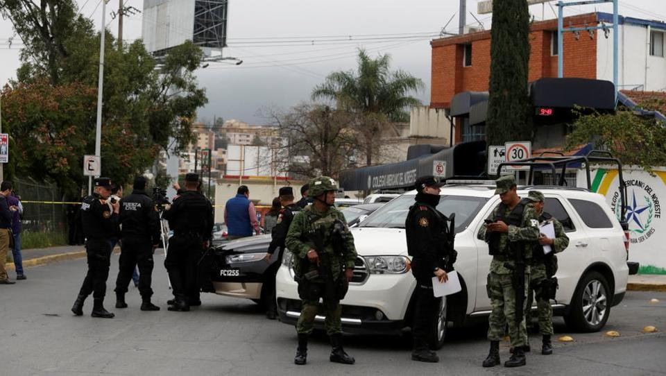 Pupil shoots, injures classmates in Mexico school