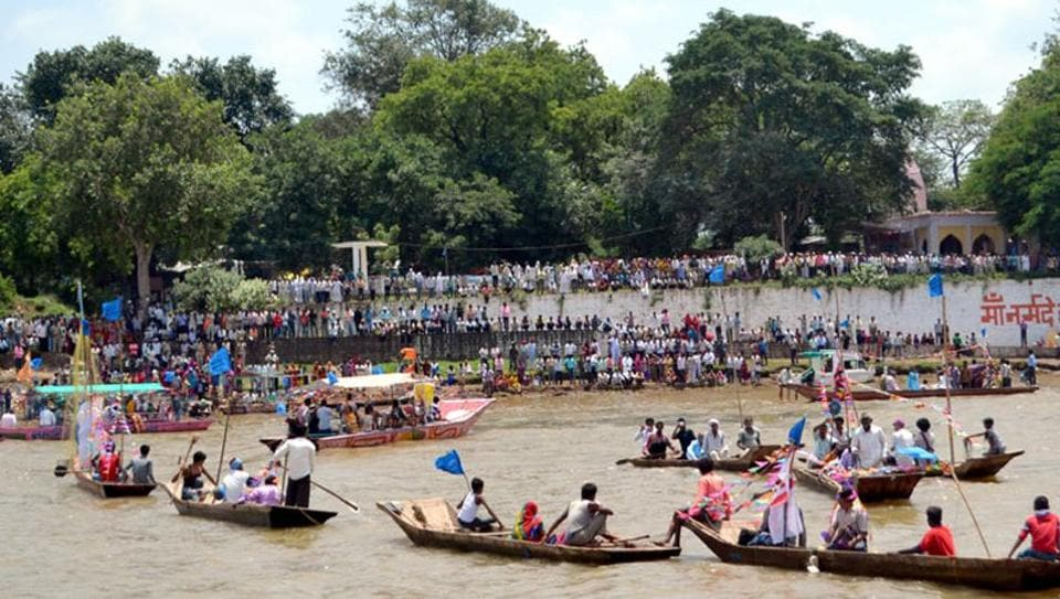 Narmada Bachao Andolan led by activist Medha Patkar has alleged that 192 villages and one township would be affected in Madhya Pradesh and about 45,000 affected persons are yet to be rehabilitated.