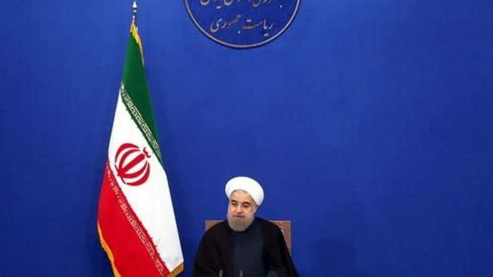 Iran's President Hassan Rouhani attends a news conference in Tehran, Iran January 17, 2017.