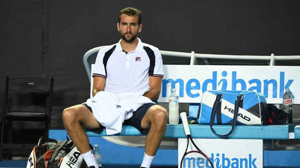 Marin Cilic, the US Open champion, was a major casualty on day 3 as he lost in four sets to Dan Evans (AFP)