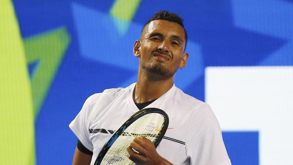 Nick Kyrgios has crashed out in the second round of the Australian Open after losing in five sets to Italian Andreas Sippi 1-6, 6-7 (1/7), 6-4, 6-2, 10-8
