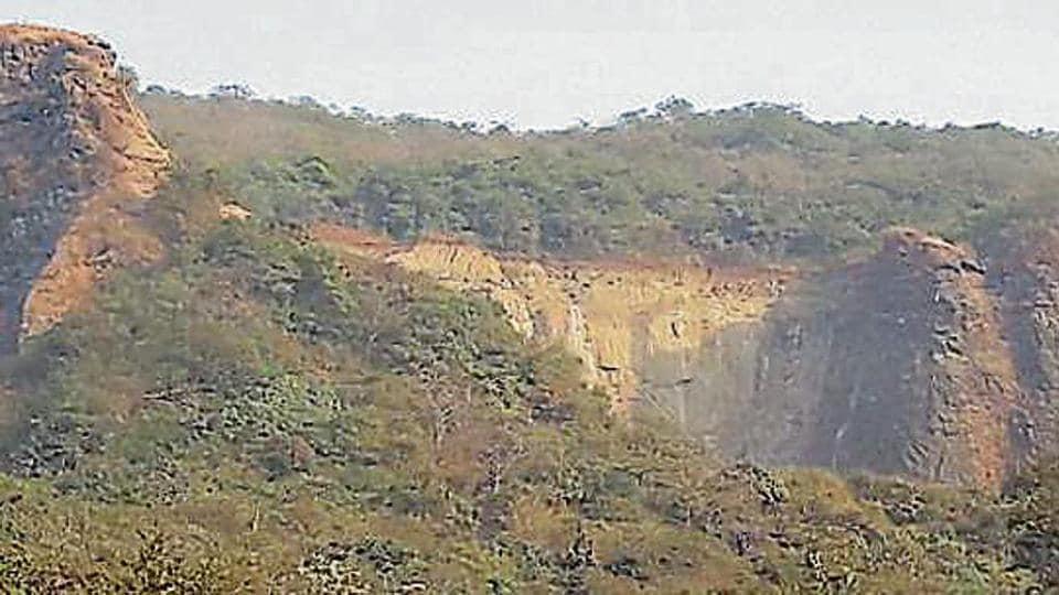 quarrying,Navi Mumbai hill,MPCB