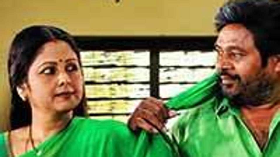 The film starring R Narayana Murthy and Jayasudha had hit the screens recently. Narayana Murthy, who dons the role of head constable Venkatramaiah, is a strict and sincere policeman who does not take any bribe
