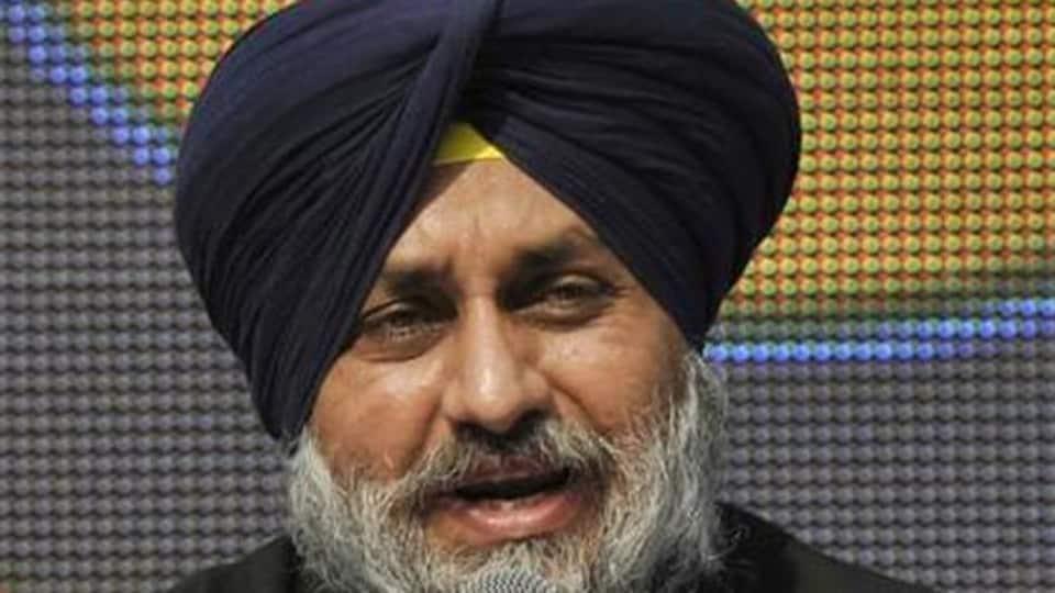 Punjab deputy CMSukhbir Singh Badal