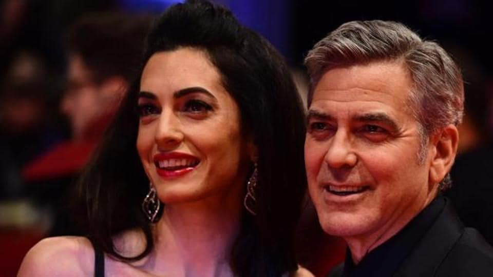 The Clooneys got married in 2014.