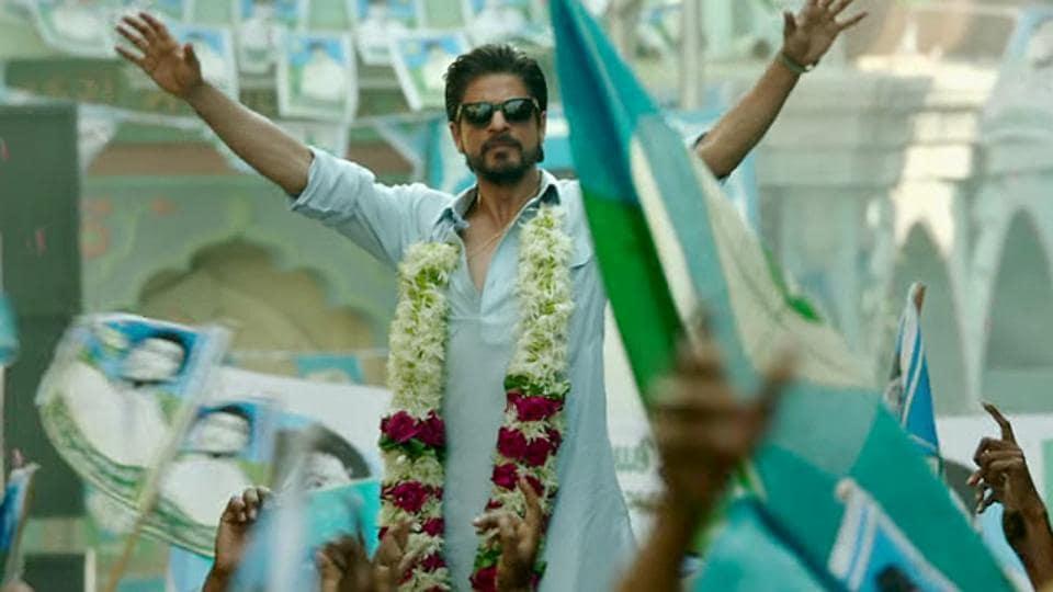 Shah Rukh Khan is playing a bootlegger in Raees.