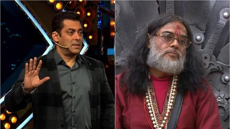 """A case has been registered against Bollywood actor Salman Khan, former Bigg Boss contestant Swami Om and the CEO of Colors TV for """"hurting the religious sentiments of Hindus""""."""