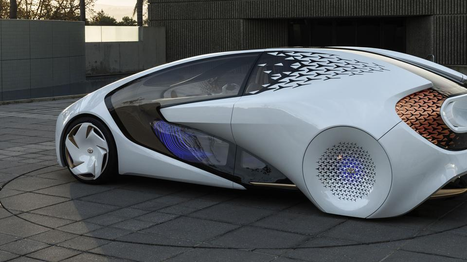 Toyota Concept-i car is among the truly innovative products showcased at the CES this year