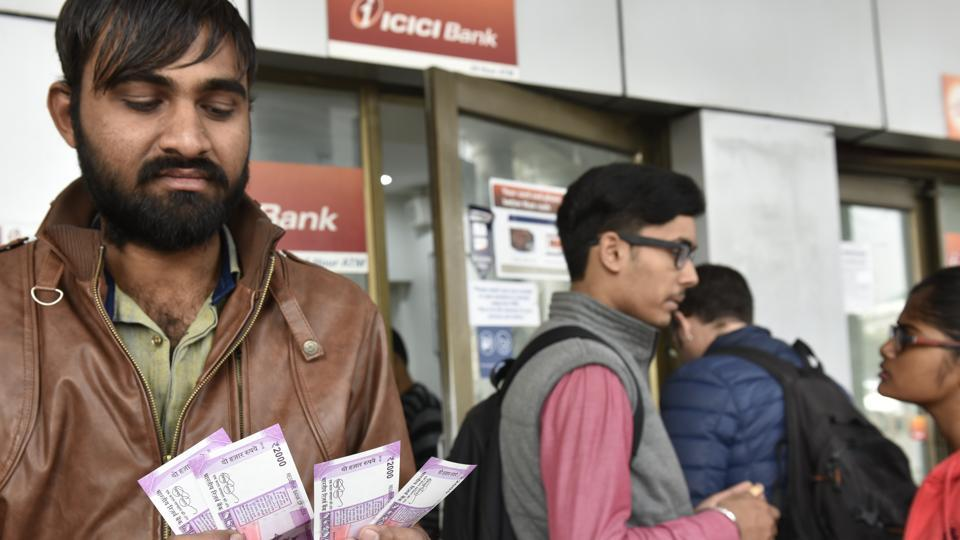 An ATM of the United Bank of India (UBI) near the civil hospital in Janumamukh dispensed four times more cash than sought.