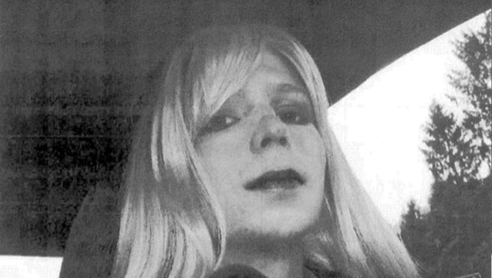 This undated photo provided by the US Army shows Pfc. Chelsea Manning.