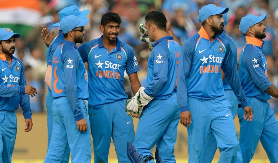 Indian bowlers successfully defended a huge total against England in the second ODI in Cuttack. Follow cricket score of India vs England here