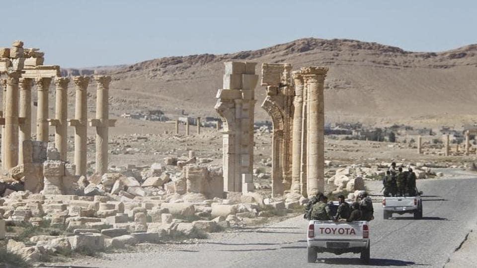 Islamic State,Palmyra,Syrian civil war