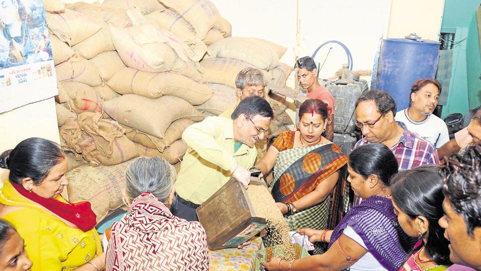 Under the food law, over 80 crore people get 5 kg wheat or rice per person per month at Rs 2-3 per kg costing exchequer Rs 1.4 lakh crore annually.