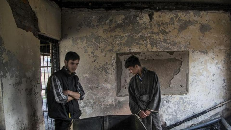 Jammu and Kashmir education minister said 47 people have been arrested in connection with the torching of the schools.