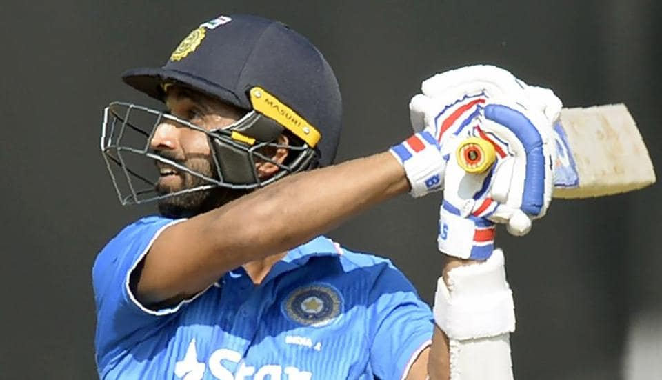 Ajinkya Rahane was tried as opener in the ODI series against New Zealand but managed only 143 runs in five innings.