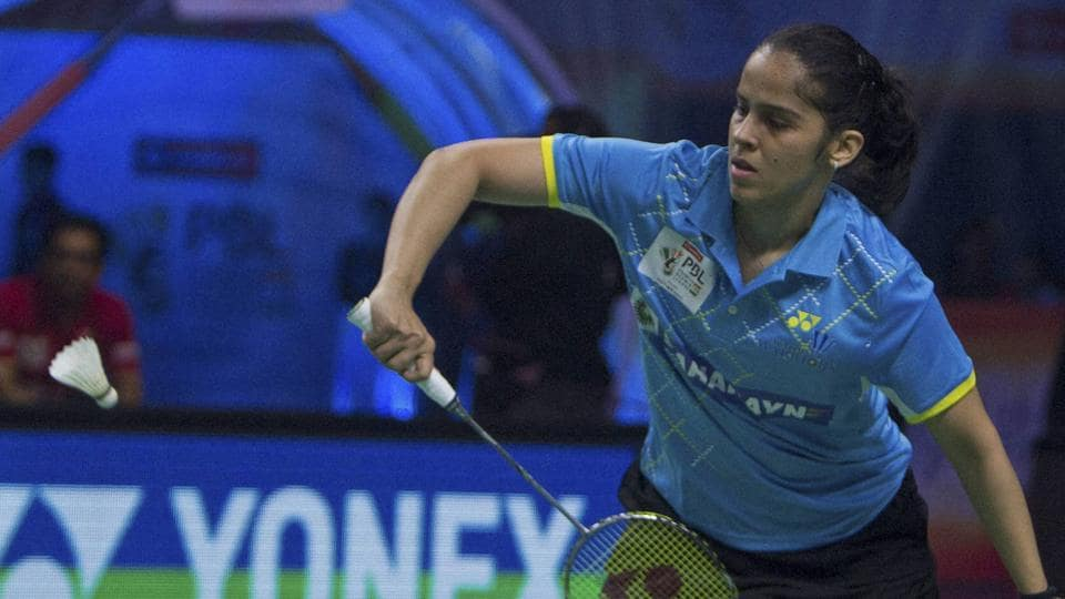 Saina Nehwal and Ajay Jayaram both registered victories to advance in the Malaysia Masters Grand Prix Gold in Sibu, Malaysia.