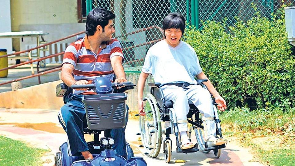 Representative photo. The Union home ministry has come out with guidelines to be followed by differently abled when the national anthem is being played in theatres.