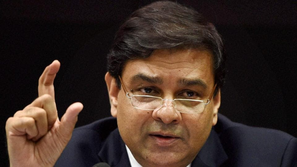 File photo of RBI governor Urjit Patel addressing a press conference in Mumbai.