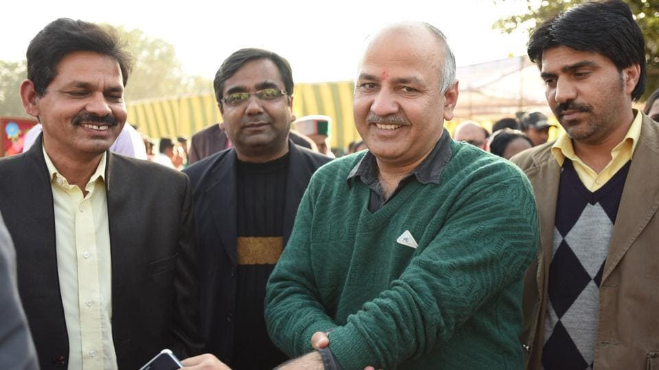 """The CBI has on Wednesday registered a preliminary enquiry (PE) against Delhi Deputy Chief Minister Manish Sisodia and some unnamed state government officials to probe alleged irregularities in the """"Talk to AK"""" campaign."""
