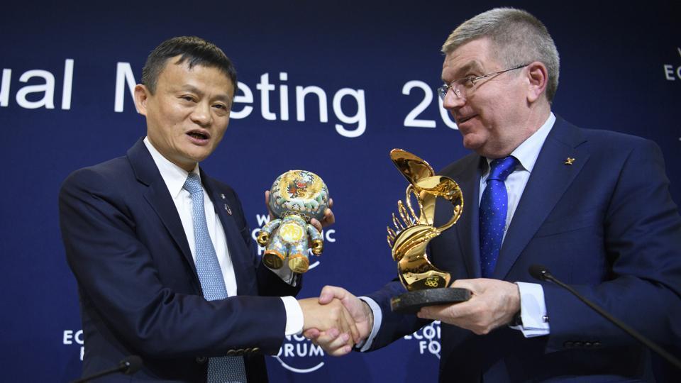Alibaba,Olympics,Thomas Bach