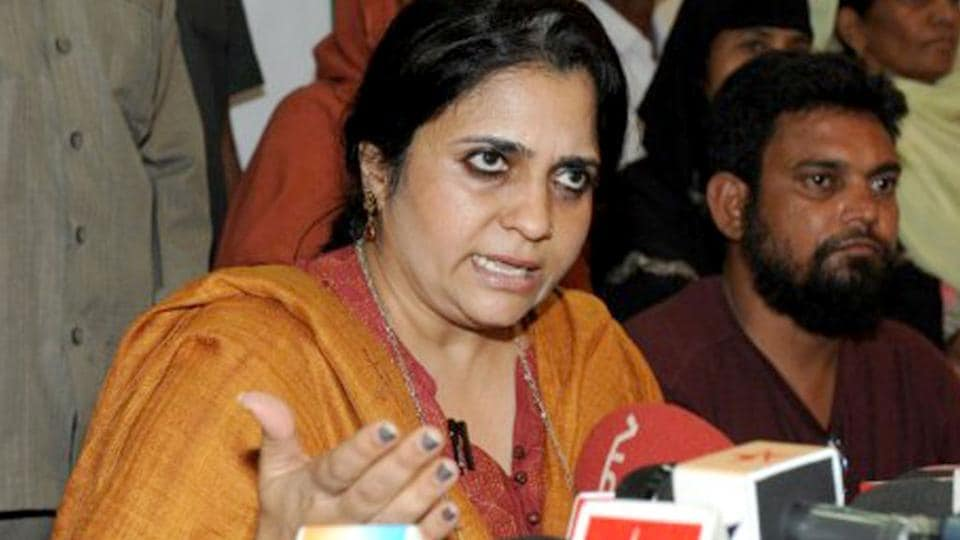 Teesta Setalvad has been charged with IPC sections 153(a) (promoting enmity between two religious groups) and section 205(a) (outraging religious feelings), besides sections of the IT Act.