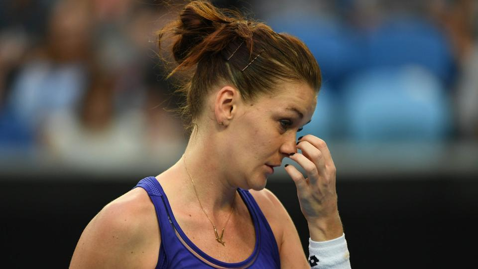 Agnieszka Radwanska crashed out of Australian Open after she was beaten by 34-year old Mirjana Lucic-Baroni in the second round.