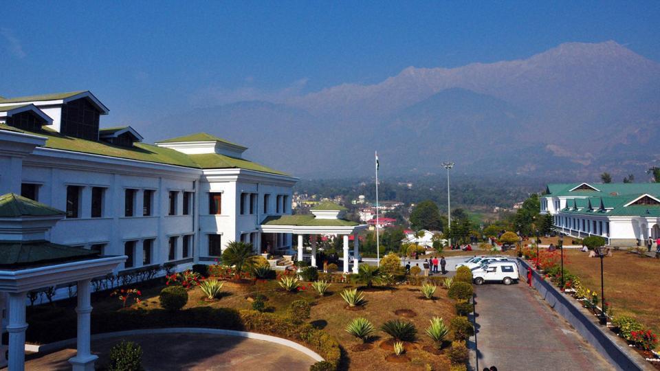 Himachal Pradesh Vidhan Sabha complex in Dharamsala.