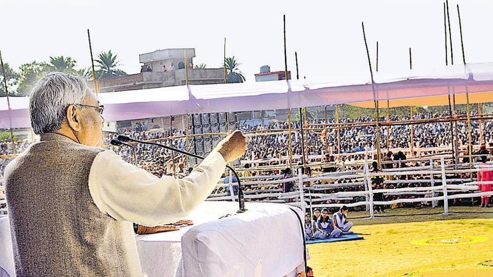 JD(U) claims recent rallies of Nitish Kumar (pic) in UP districts bordering Bihar have drawn big crowd
