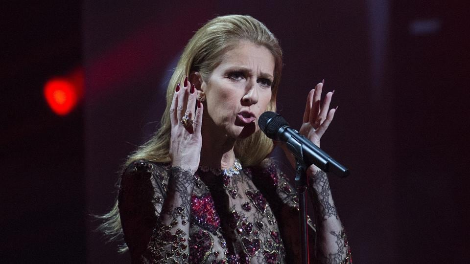 Celine Dion performs in memory and honour of her late husband Rene Angelil at the Gala Adisq awards ceremony in Montreal.