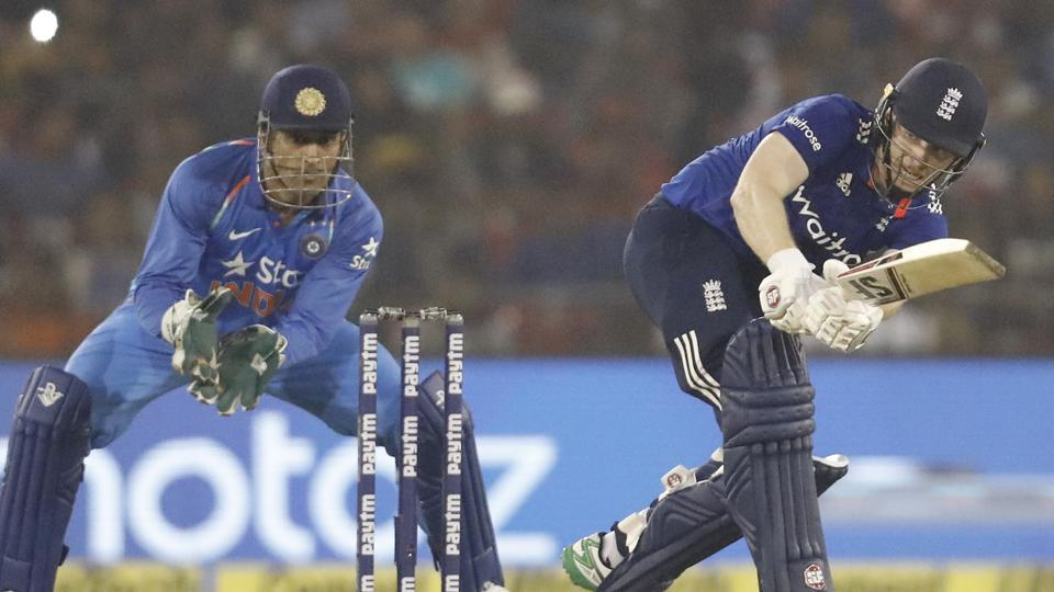 Eoin Morgan's England cricket team were fined 10 percent of their match fee for maintaining a slow over-rate during the Cuttack ODI against India.