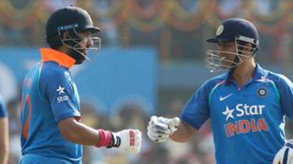 Yuvraj Singh and Mahendra Singh Dhoni shared a record 256-run stand for the fourth wicket as India defeated England in Cuttack to take an unbeatable 2-0 lead in the series.