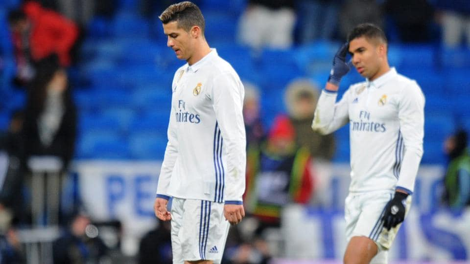 Real Madrid C.F, who had not lost in 40 games in all competitions, suffered back-to-back defeats against Celta Vigo and Sevilla.