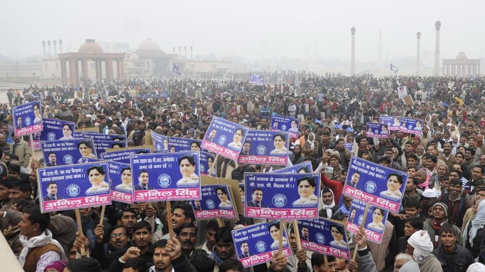 The BSP is relying on its foot soldiers to counter the Congress­- SP bid to make inroads into Muslim­- Dalit vote bank.