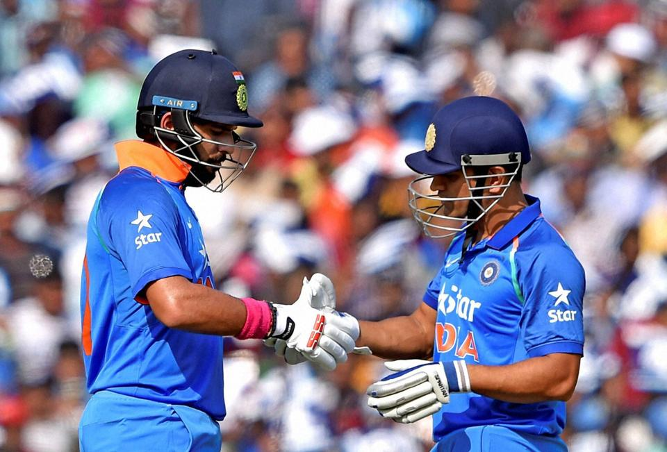 Mahendra Singh Dhoni and Yuvraj Singh scored centuries on Thursday to help India cricket team beat England cricket team by 15 runs and clinch the three-match ODI series 2-0.