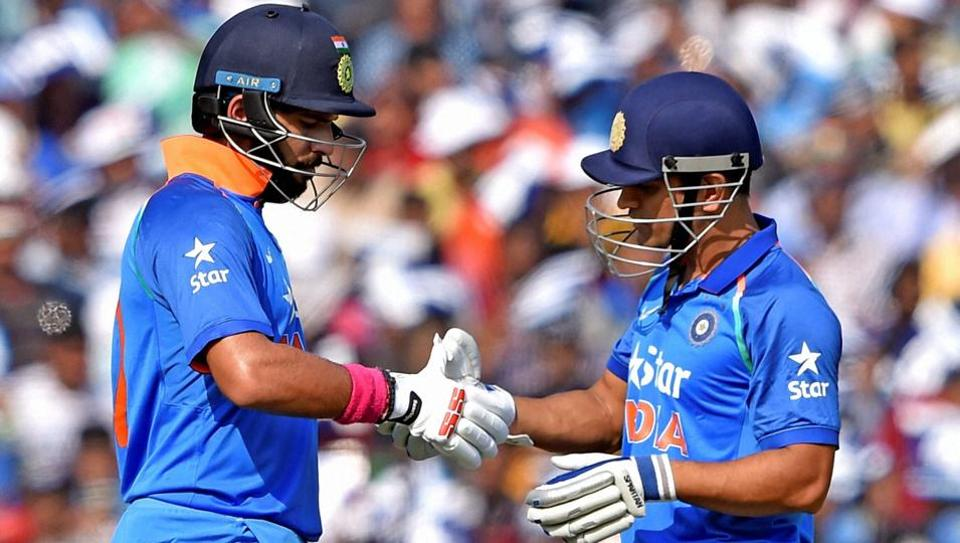 Yuvraj Singh and Mahendra Singh Dhoni turned the clock back, the former stroking a career-best 150 and his partner making 134 against England in the second ODI in Cuttack.