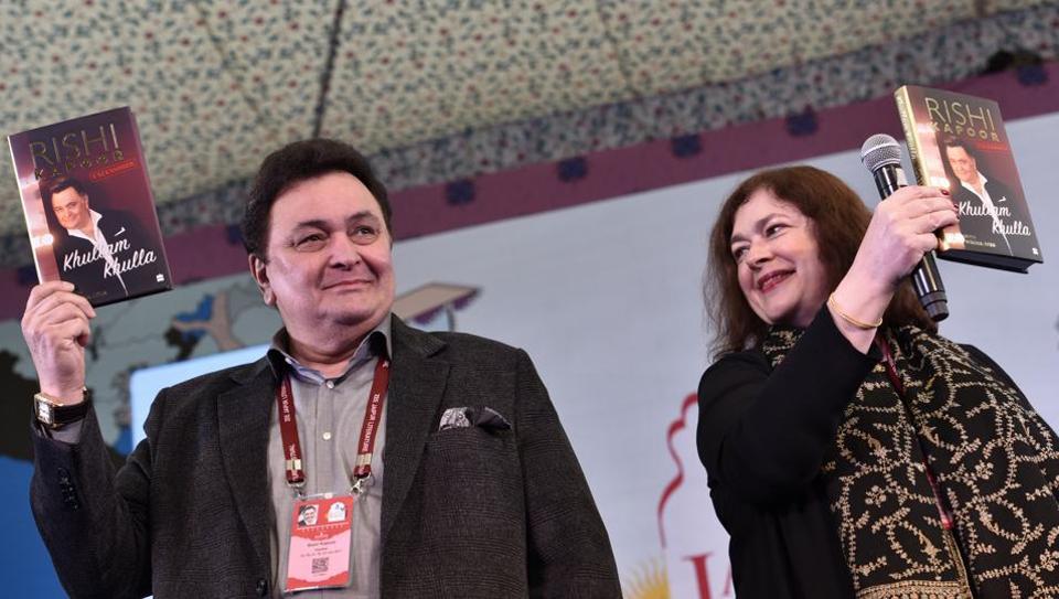 Rishi Kapoor,JLF 2017,Khullam Khulla