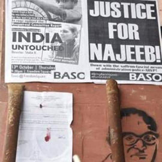Delhi High Court had asked the CBI to probe the case of Najeeb Ahmed on May 16.