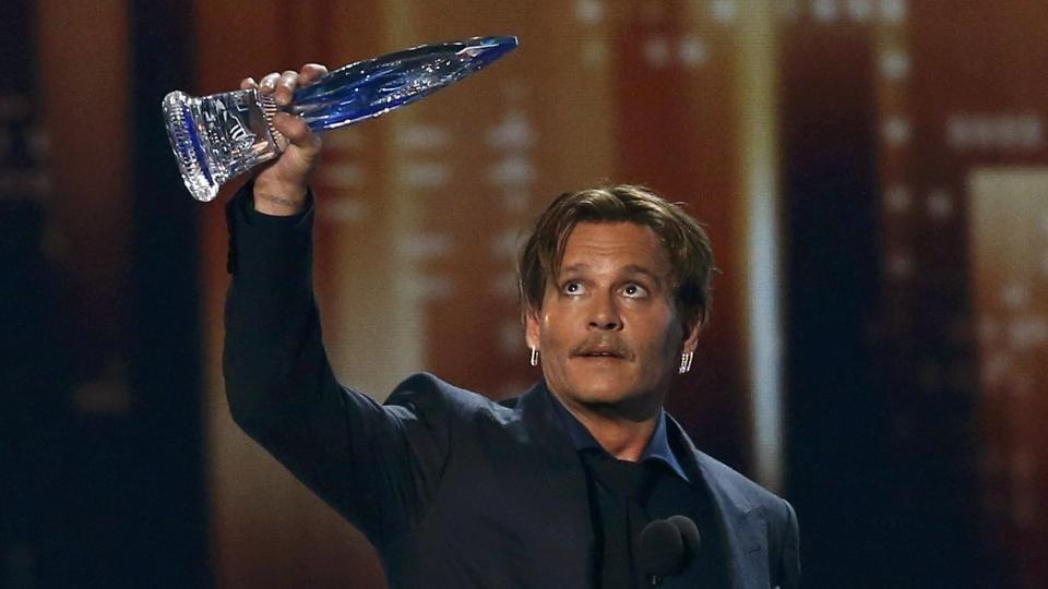 Johnny Depp,People's Choice Awards,Amber Heard